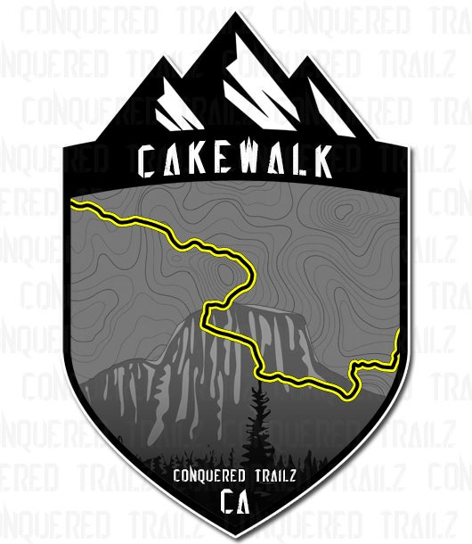 "Image of ""Cakewalk"" Trail Badge"
