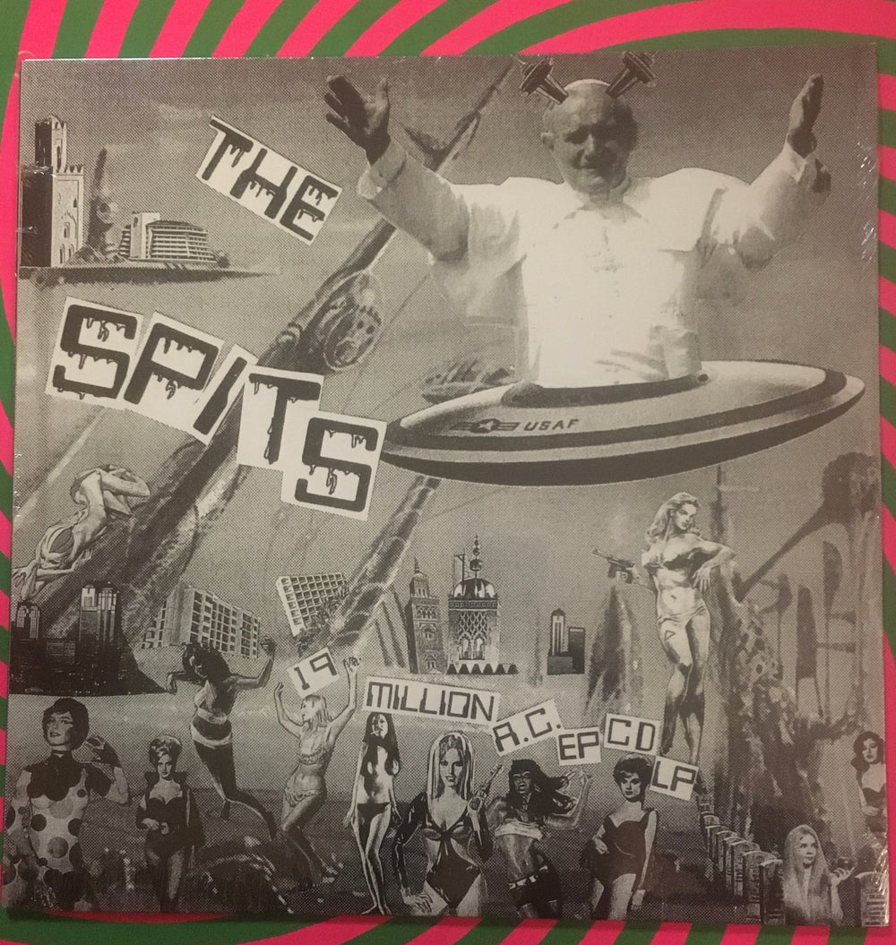Image of THE SPITS 19 MILLION AC EP CD LP