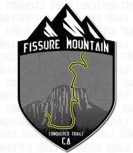 "Image of ""Fissure Mountain"" Trail Badge"