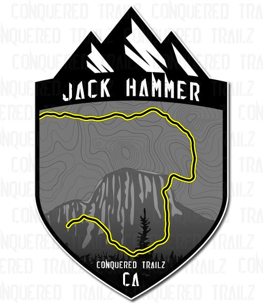 "Image of ""Jack Hammer"" Trail Badge"