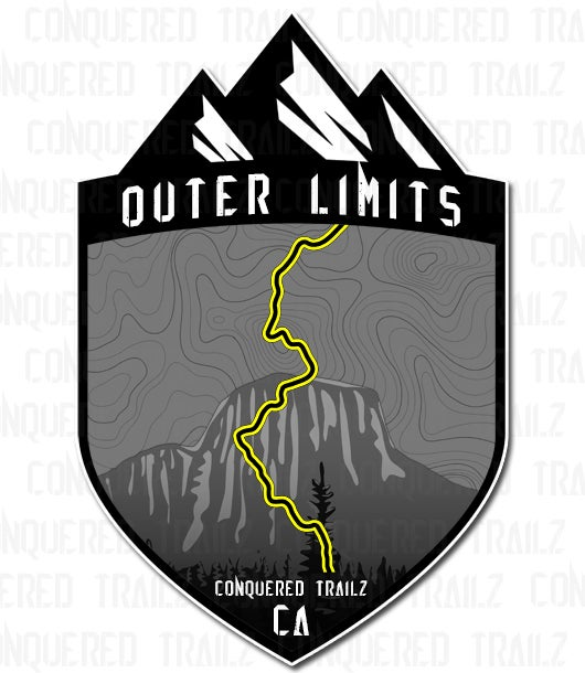 "Image of ""Outer Limits"" Trail Badge"