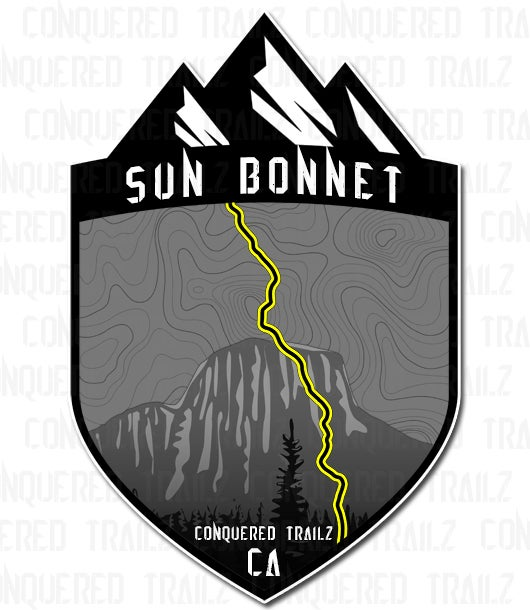 "Image of ""Sun Bonnet"" Trail Badge"