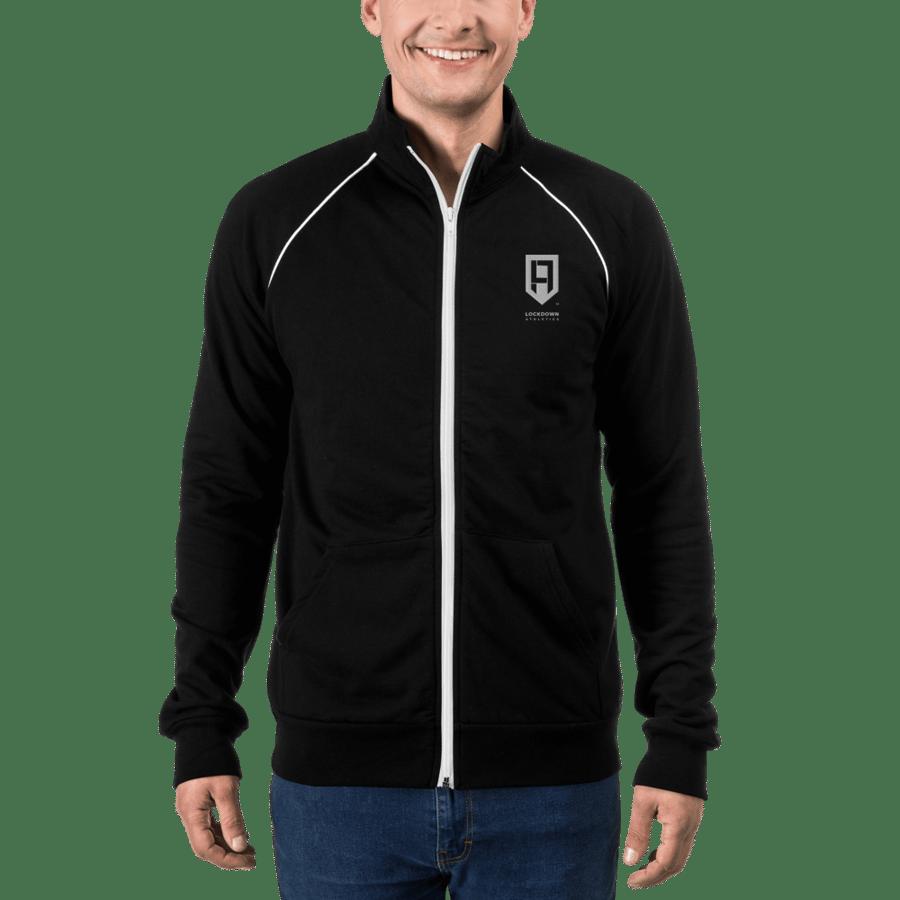 Image of Black Fleece Jacket