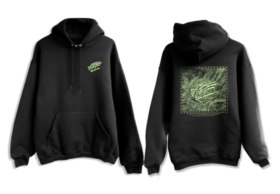 Image of Adventure Program - Topographic Hoodie