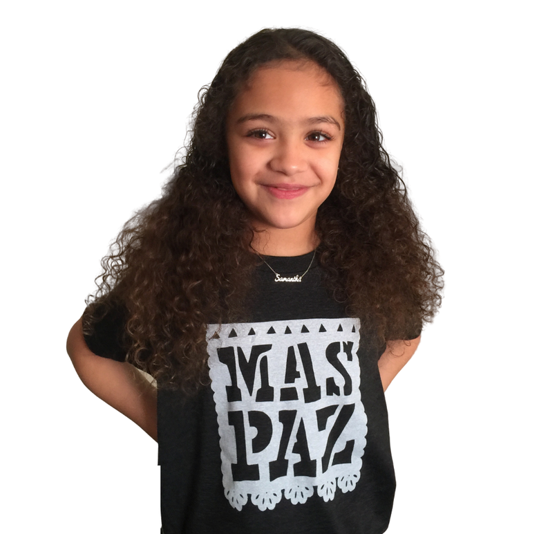 Image of Mas Paz Toddler Tee's