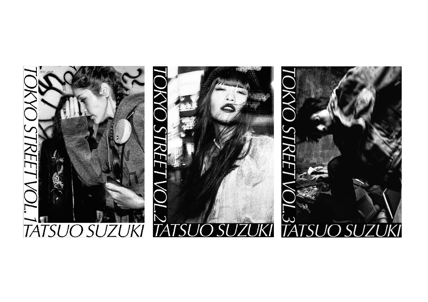 Image of ZINE: TOKYO STREET VOL. 1,2&3 (INCLUDING SHIPPING COST)