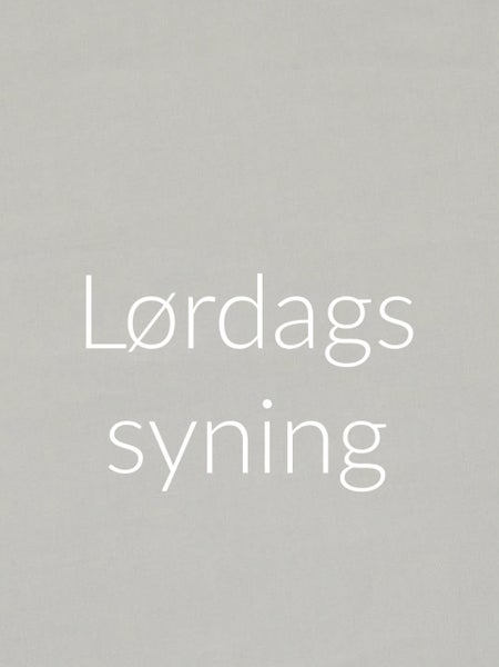 Image of Lørdagssyning