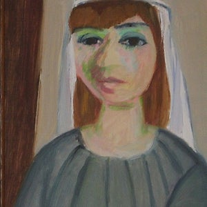 Image of 1950, Swedish, Female portrait, Gerhard Karlmar (1905–1976)