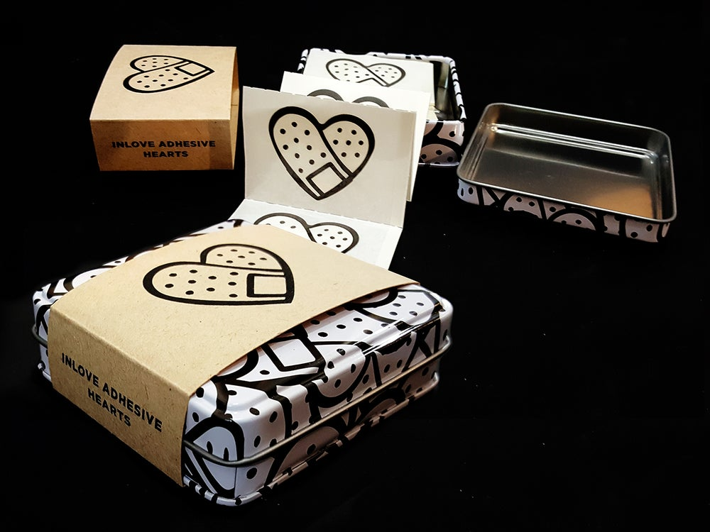 Image of Heart-Shaped-Bandaids - PRESALE!! shipping on MAY 2020!!