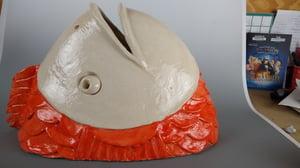 Scarlet the ceramic fish