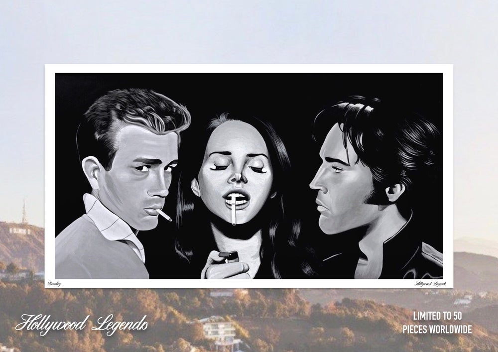 Image of *SOLD OUT* Hollywood Legends Limited Edition Poster Print