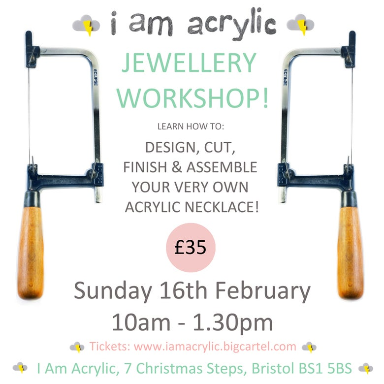 Image of Sunday 16th February I Am Acrylic Workshop
