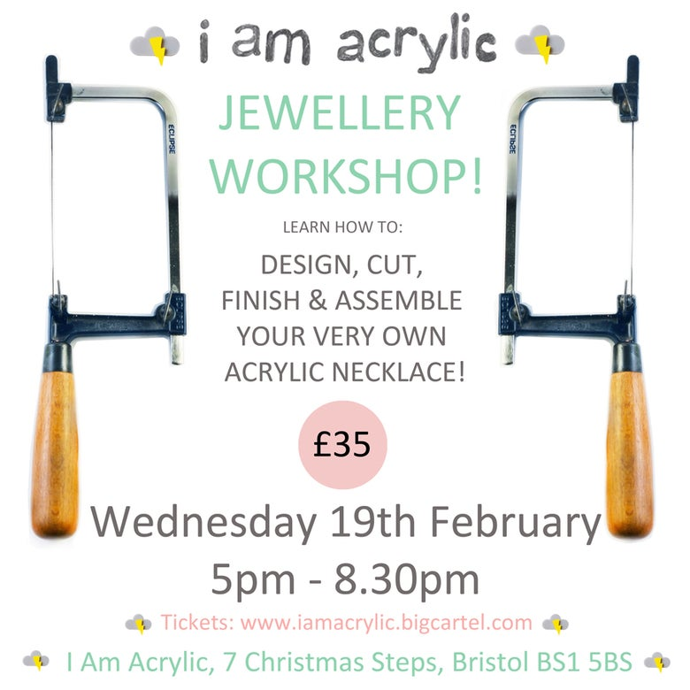 Image of Wednesday 19th February I Am Acrylic Workshop