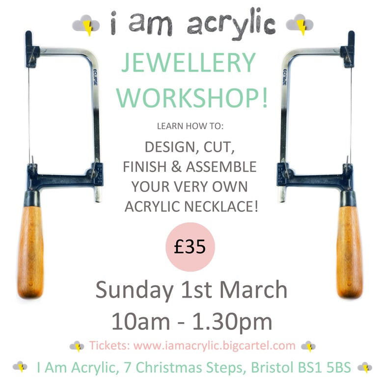 Image of Sunday 1st March I Am Acrylic Workshop