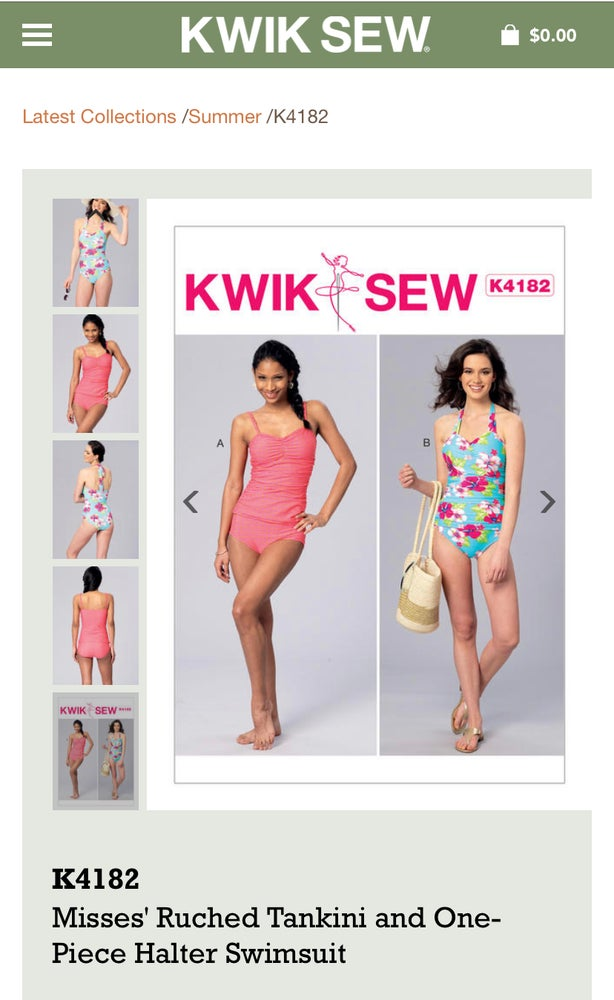 Image of IN PERSON Swimwear Class: Supplies included