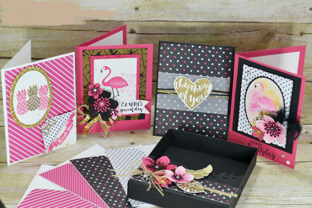 Image of Pop of Paradise Greeting Card Set