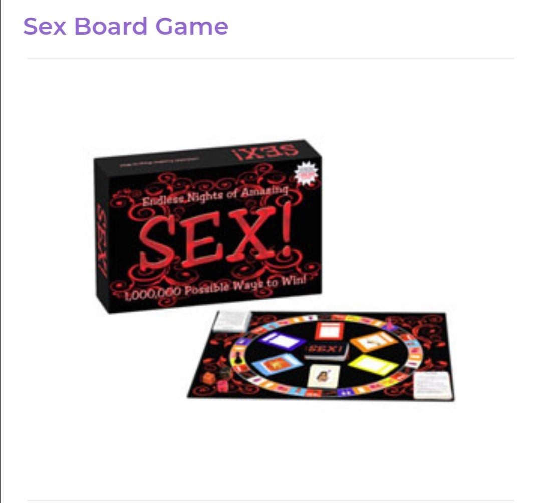 Image of Sex Board Games