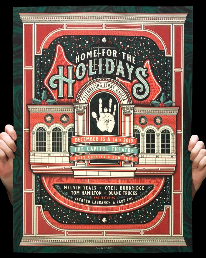 """Image of Home for the Holidays 18""""x24"""" Poster"""