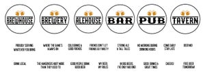 Image of Round Personalized Bar Sign with 3D Beer Mugs