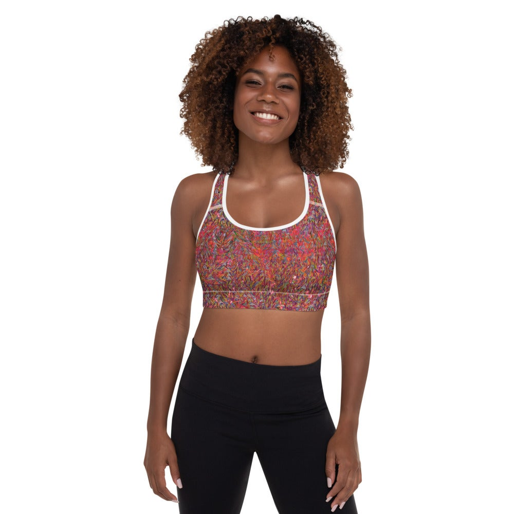 Image of Party Sequin Sports Bra