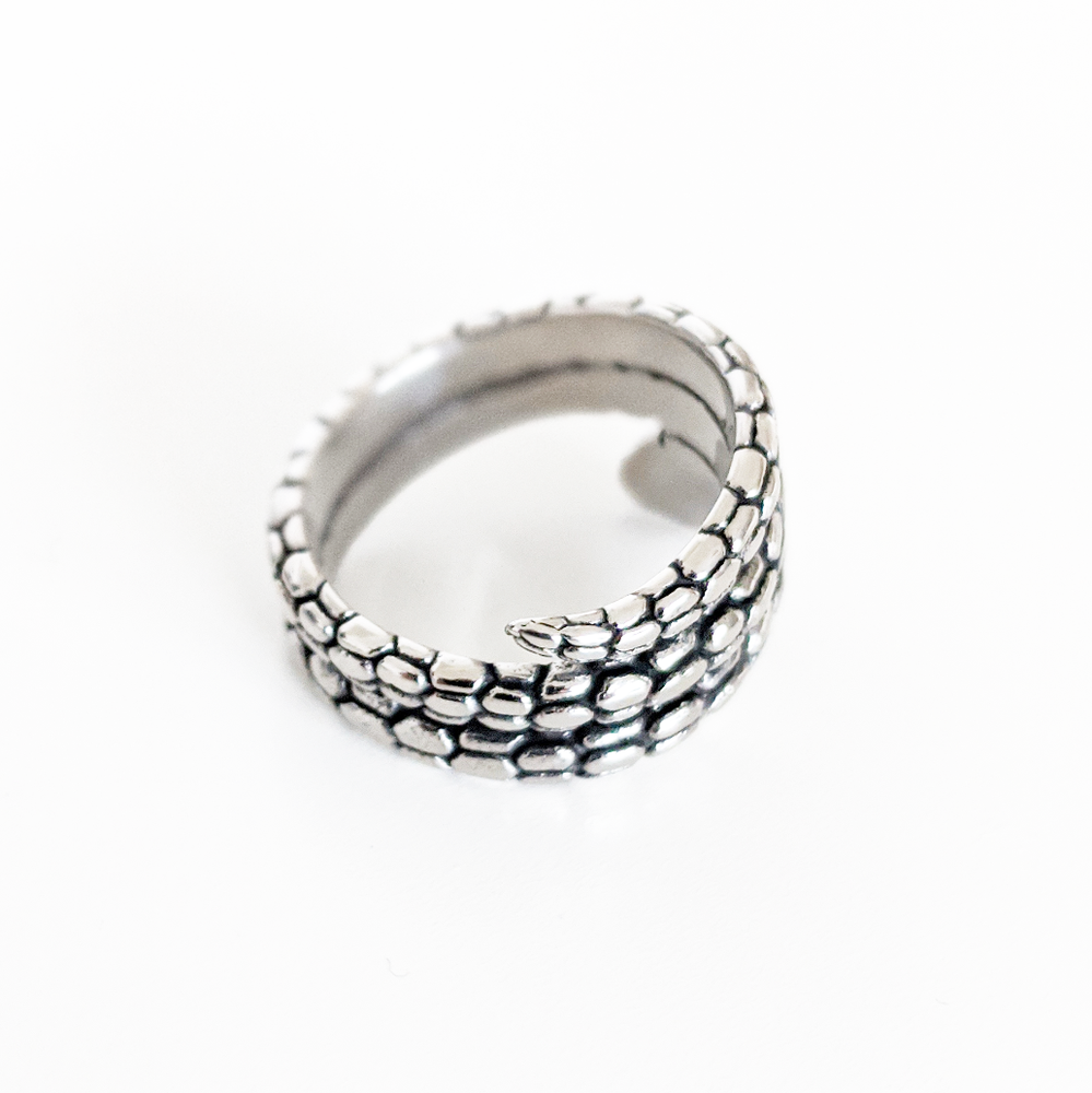 Image of Coiled Snake Ring