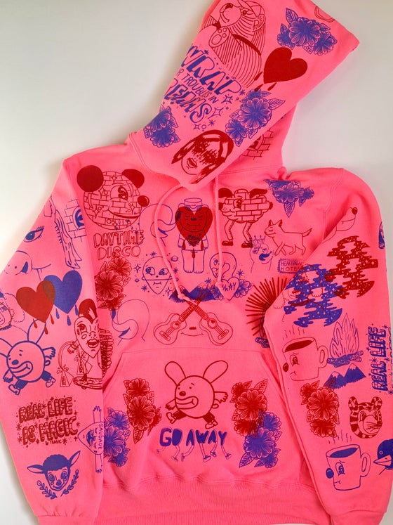 "Image of ""Pink Honey"" hoodie (SMALL)"