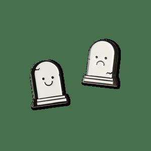 Image of Memento Mori Enamel Pins