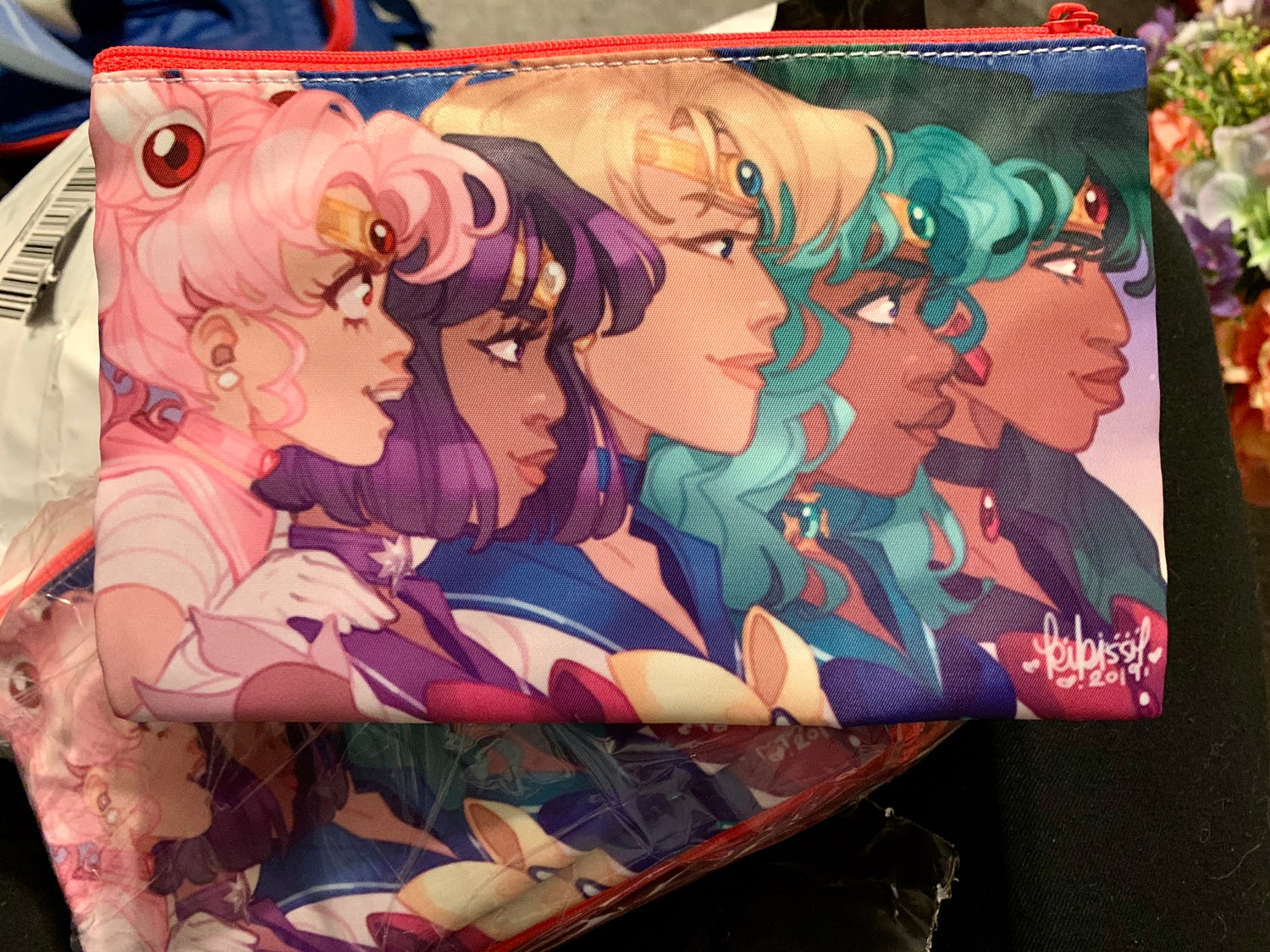 Image of Sailor Scouts Prints and Cosmetic Zipper Pouch