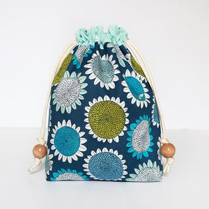 Image of Lined Drawstring Bag Expansion PAPER Pattern