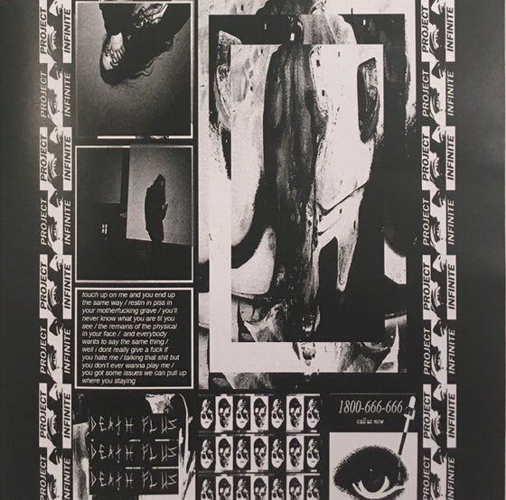 Image of Death Plus 1800-666-666 Booklet