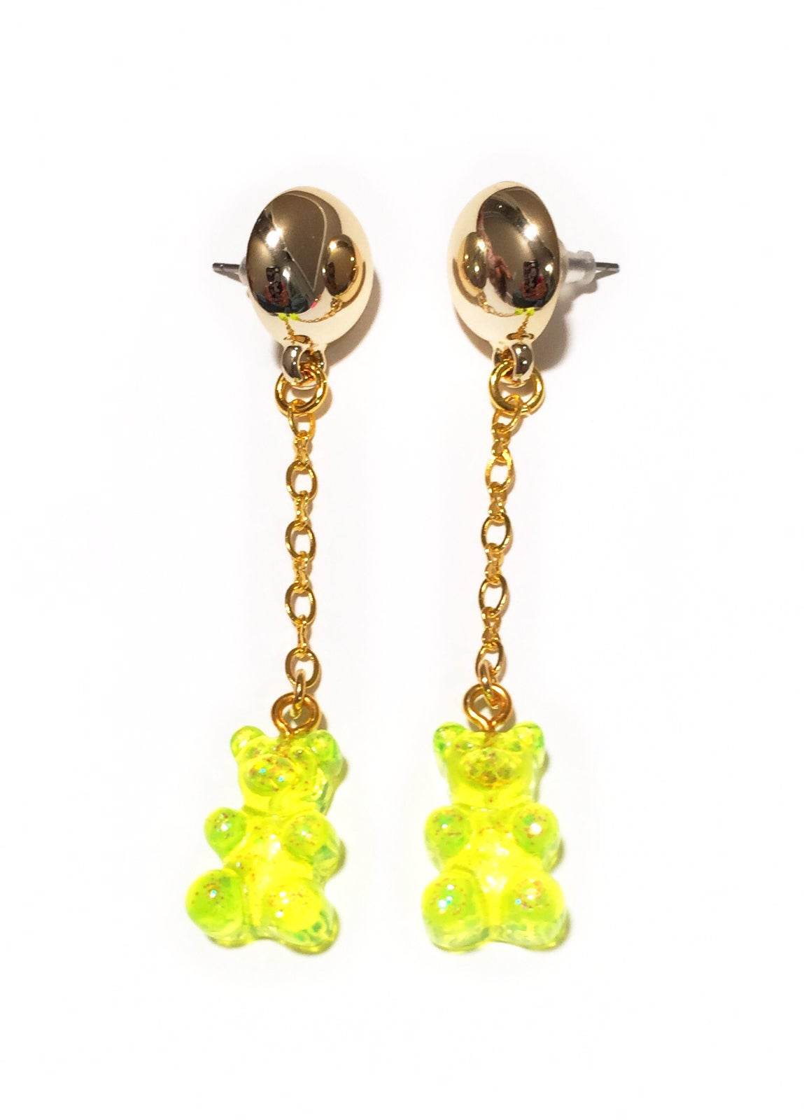 Image of Lemon Gummy Bear Earrings