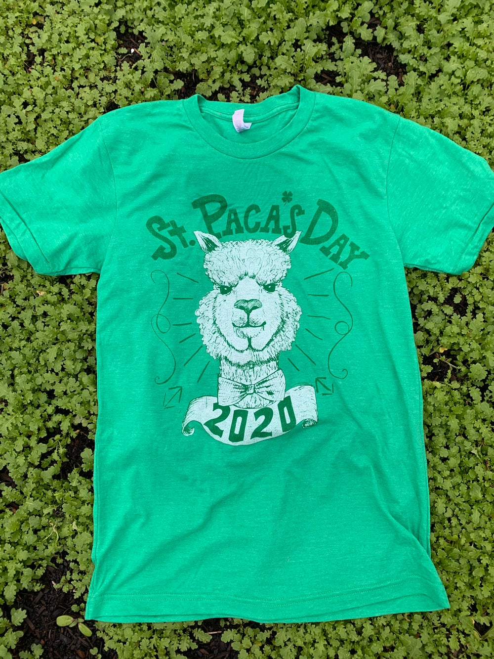 Image of Adult St Pacas Day Short Sleeve Tee