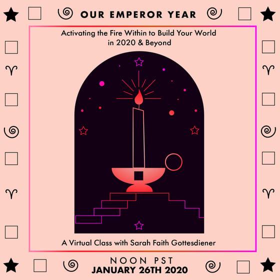 Image of Our Emperor Year Online Workshop
