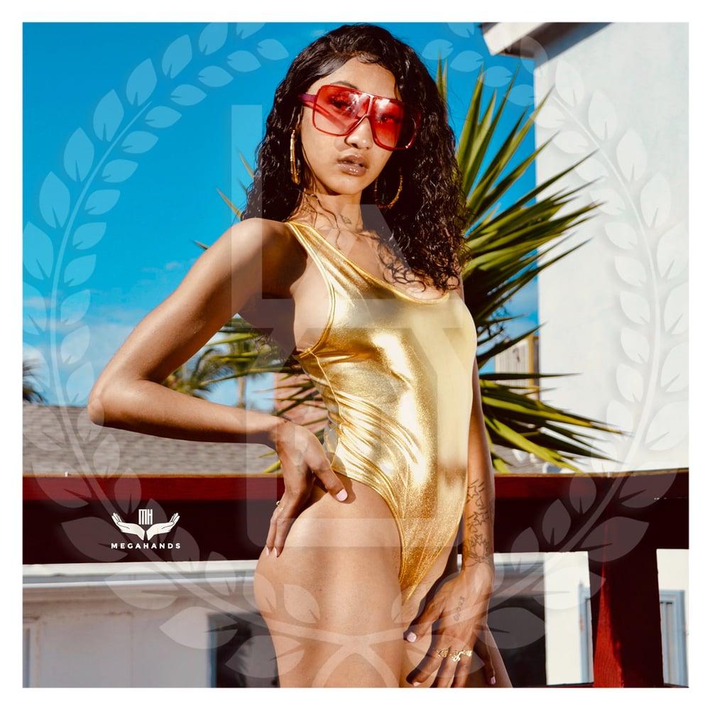 Image of LAU | Gold Body Suit