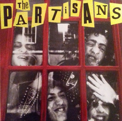 Image of the PARTISANS - S/T LP (w/poster)