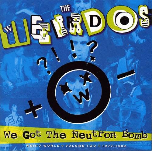 Image of WEIRDOS - Weird World Volume 2: 1977-1989 LP (Color Vinyl)