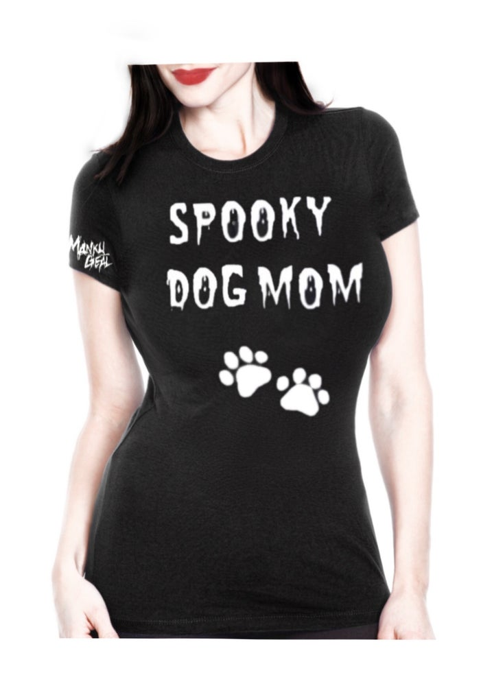 Image of Spooky Dog Mom Women's Tee