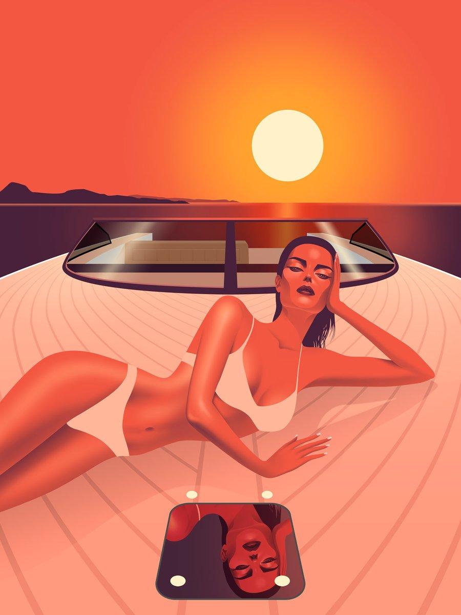 Image of Sunset in Ibiza with Vandutch