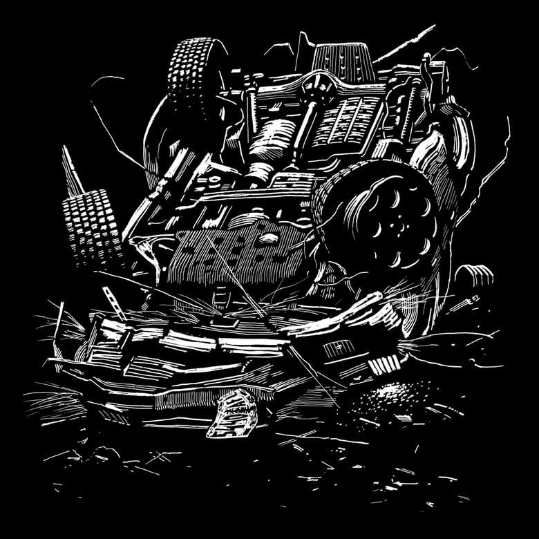 Image of »Car #1« Testprint