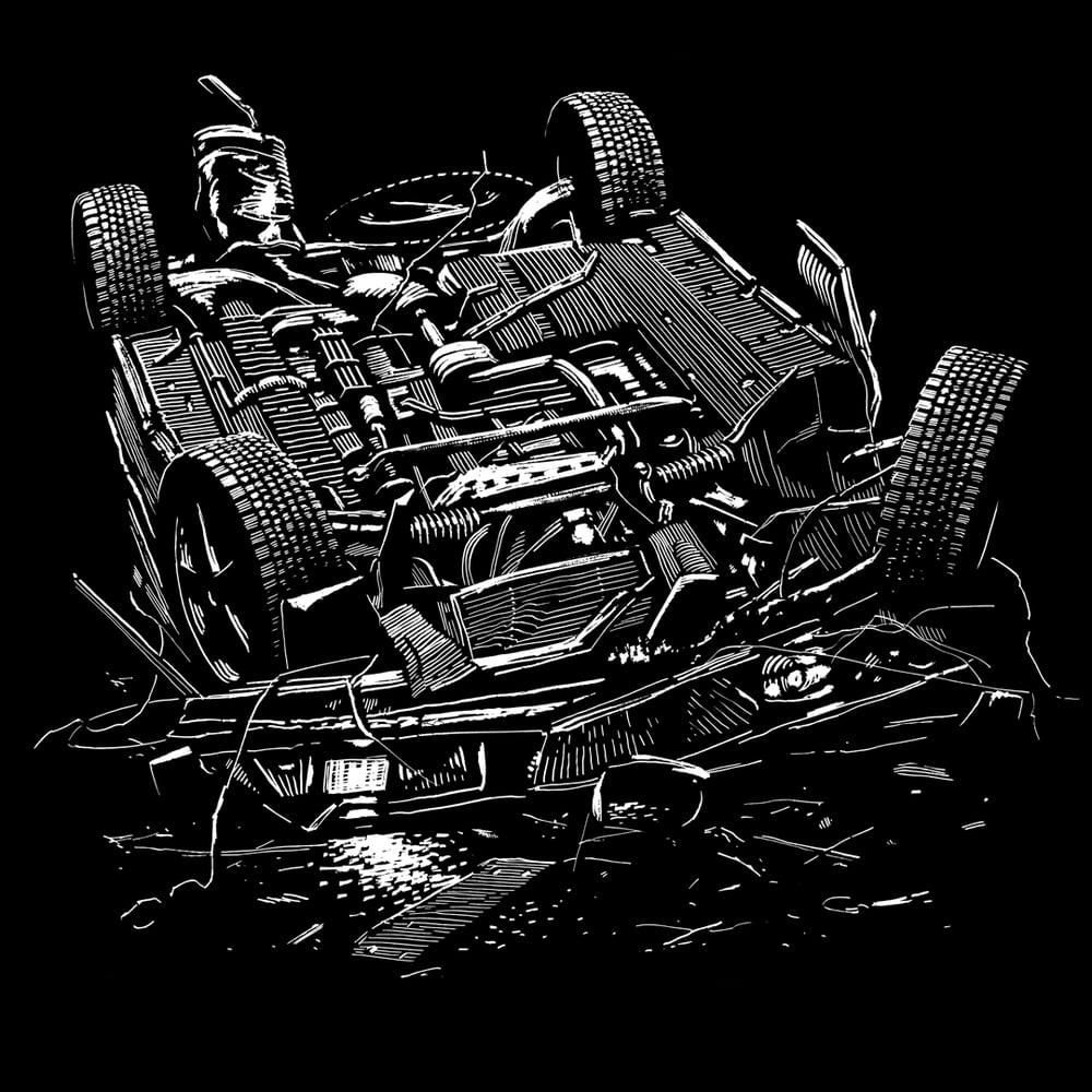 Image of »Car #2« Testprint