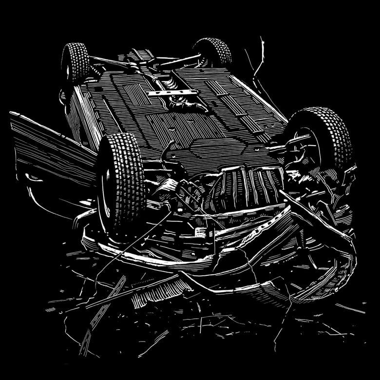 Image of »Car #3« Testprint