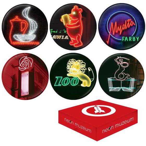 Image of Podstawki - 6 x Coasters