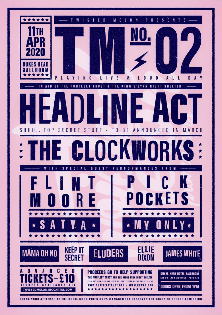 Image of TM02 - 11 Act All Dayer