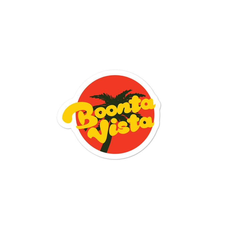 Image of Boonta Vista Logo Sticker