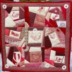 Image of Original Design Country Style Art Quilt (Wall hanging)