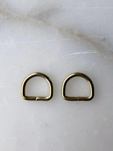 Image of D-ringe til Holly - Guld