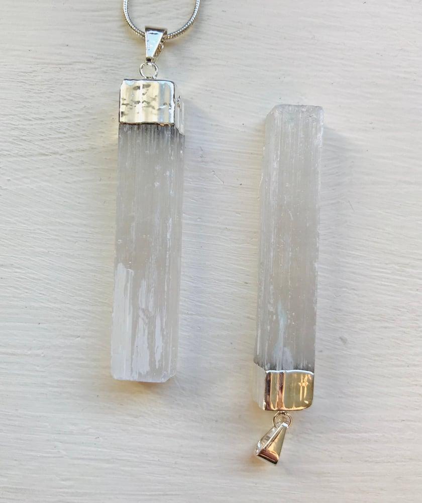 Image of Selenite Pendant