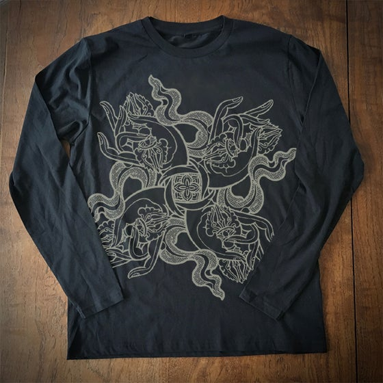 Image of '4 Dorje Hands' Long sleeve