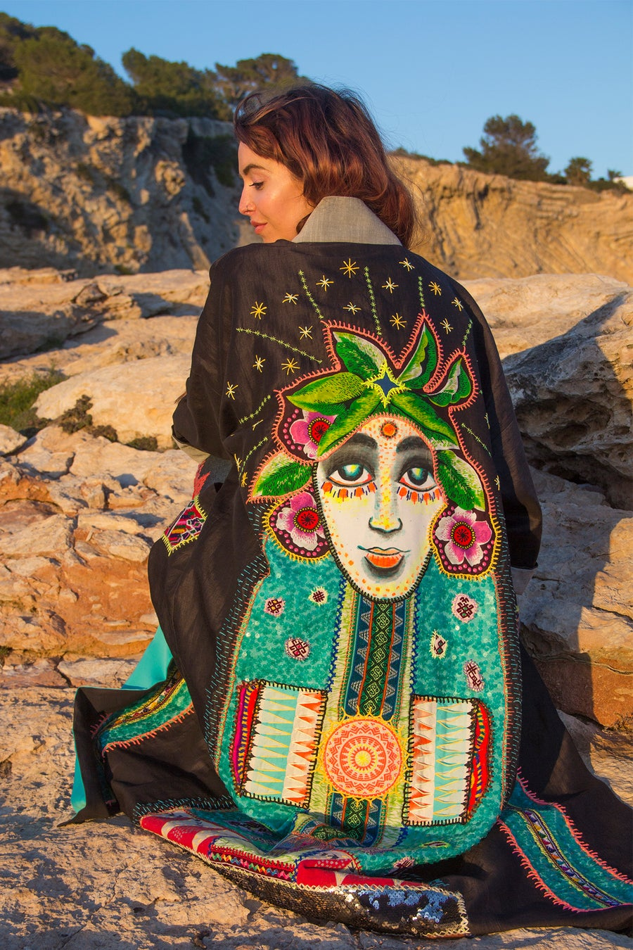 Image of Cosmic Pachamama Kimono