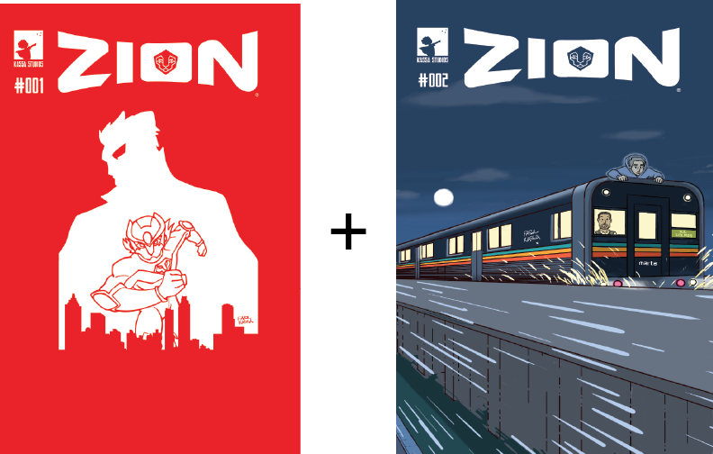 Image of Zion #1 and #2 - Combo (Physical Copies)